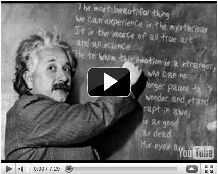 Post image for Which Albert Einstein Quote Moves You?