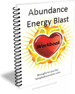 Abundance Energy Blast - Companion Workbook