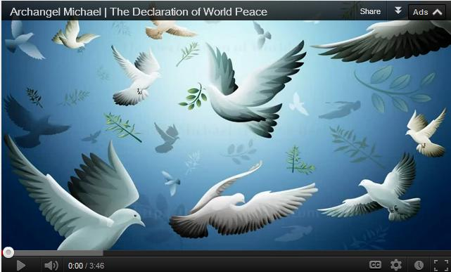 Post image for Archangel Michael – The Declaration of World Peace