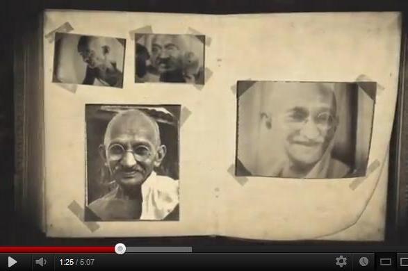 Post image for Being the Change You Want to See – Happy Birthday Gandhi!