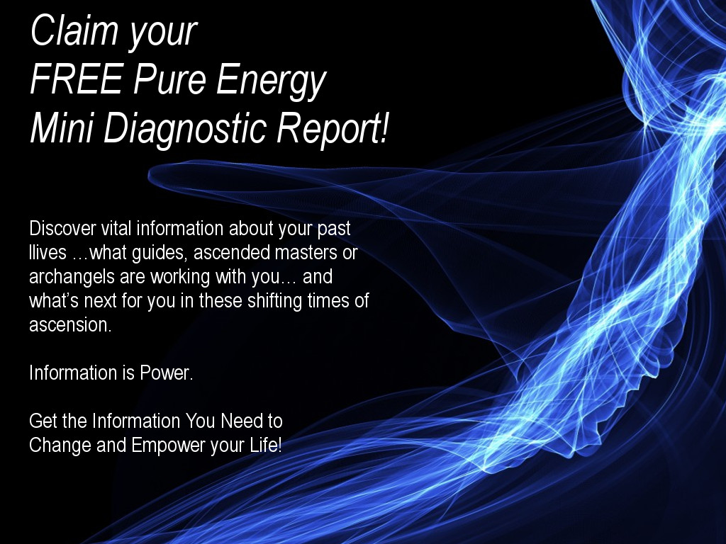 Post image for Claim your Free Pure Energy Mini Diagnostic